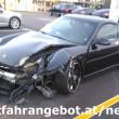 Porsche 911 mit Frontalschaden, schade um das schöne Sportauto! Foto: Mitfahrangebot.at/news
